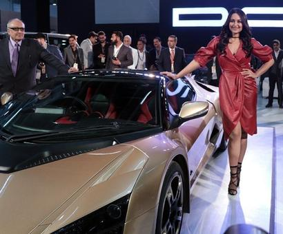 Sonakshi Sinha steps up to launch DCs latest car
