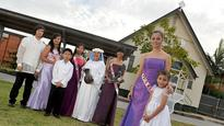 Brides, angels and Queens together in Caboolture