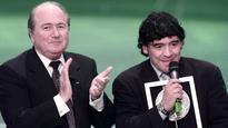 Sepp Blatter denies offering money to Diego Maradona for FIFA work
