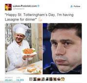 Tottenham has fallen! Arsenal fans enjoy marking 'St Totteringham's Day' after Spurs finish behind the Gunners in final table