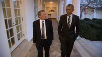 Obama says family's ready to leave the White House