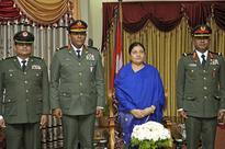 Maldives security chief calls on Nepal President, PM