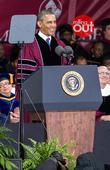 President Barack Obama addresses Morehouse College graduates