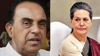 VVIP chopper scam: Watch Subramanian Swamy make allegations against Sonia without naming her