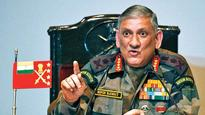 Want to restore peace on LoC, won't hesitate to give fitting reply if ceasefire violated: Bipin Rawat