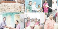 Siasat relief work continues in rain affected areas of Borabanda