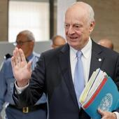 UN Syria envoy urges speedier talks to avoid seventh year of war