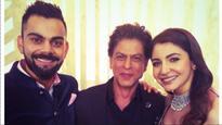 Virushka Reception | Shah Rukh Khan and newlyweds Virat Kohli-Anushka Sharma go 'Balle Balle' on the dance floor