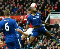 Champagne still on ice for Leicester after United draw