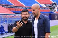 Juan Veron in JB to discuss possible JDT-Estudiantes tie-up