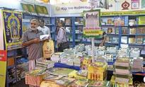 Stalls with religious books favourite at Chennai book fair