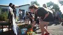 Two years on, Ukraine villagers mourn at MH17 crash site