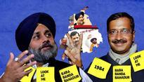 AAP, SAD & Congress wage Punjab proxy battle from Delhi