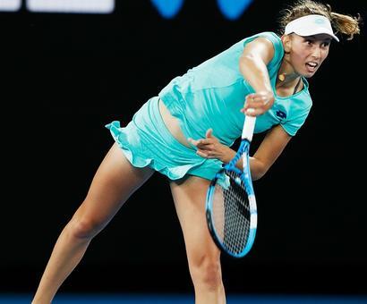 Belgium's Mertens keeps calm, collected in Australian Open bid
