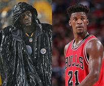 Jimmy Butler and the Bulls' success might be aided by throwing the ol' pigskin around