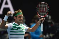 Roger Federer gets into 'Terminator' mode!