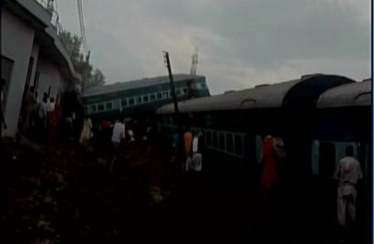 6 coaches of Utkal Express derail in UP