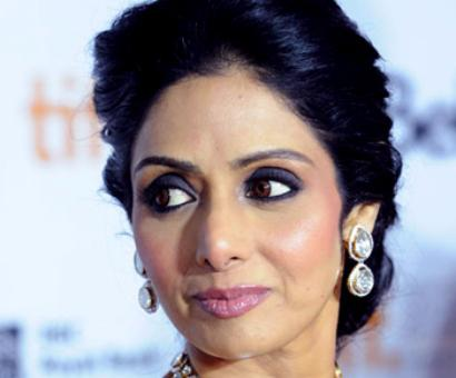Sridevi: I believe in aging gracefully