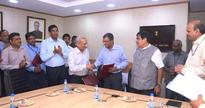 IWAI Signs MoUs with Dredging Corporation of India, Paradip Port Trust and Mormugao Port Trust