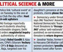Netas of all hues wade in, makeJNUtheatreof national politics