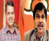 Fadnavis meets Gadkari on Diwali