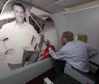 Ratan Tata's aviation ambitions a step closer as India opens up