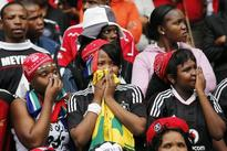 Weeping South Africans say goodbye to slain captain Meyiwa