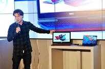 Tom Holland, star of the upcoming Spider-Man: Homecoming, introduces the new Dell Inspiron 15 Gaming laptop and XPS 2-in-1 at the CES 2017 .