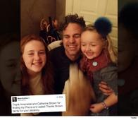 Mark Ruffalo thanks Brown sisters for finding his wallet