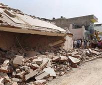 Rajasthan cylinder blast: 6 dead, building demolished in Ajmer