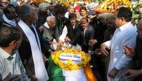 Balram Jakhar cremated in Abohar village