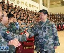 Xi stresses joint battle command for military reform