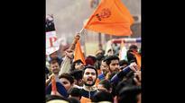 Students of Mumbai University, TISS, IIT-Bombay protest against ABVP