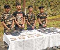 Six militants of various UG groups arrested