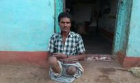 Got nothing from govt, says man who lost legs and lives off work of minor kids
