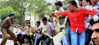 Police foil relay hunger strike plan by supporters