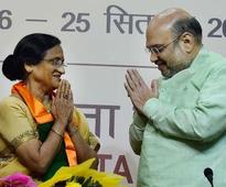 BJP fields Rita Bahuguna from Lucknow Cantt