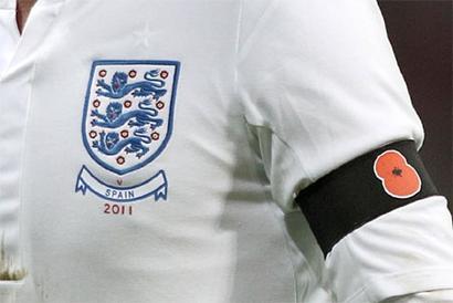 FIFA fine England 45,000 Swiss francs over poppy tribute