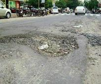 Rain punches potholes on roads, lays bare BMC tall claims