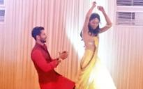 Spotted: Shahid Kapoor dancing with bride-to-be Mira at Sangeet ceremony