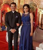 Priyamani looks elegant in this gown designed by Poornima