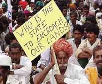 Protests in UP against land acquisition for freight corridor