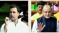 Arhar Modi, says Rahul; Jaitley denies prices charge