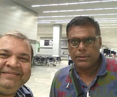 Spotted: Ashish Vidyarthi in Hyderabad
