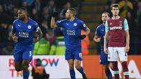 #LEIWHU: Leicester ease relegation fears with 1-0 win over Hammers