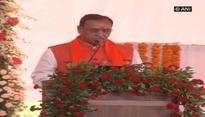 Vijay Rupani takes oath as Gujarat Chief Minister