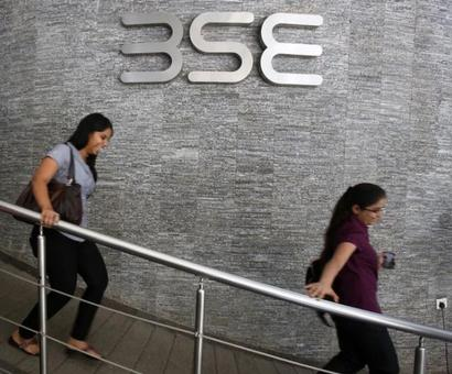 Sensex drops 175 points on ADB forecast, macro worries