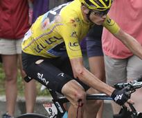 Chris Froome set for third Tour de France win after Mont Blanc drama