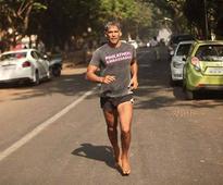 WATCH: Milind Soman awe-inspiring barefoot run from Ahmedabad to Mumbai