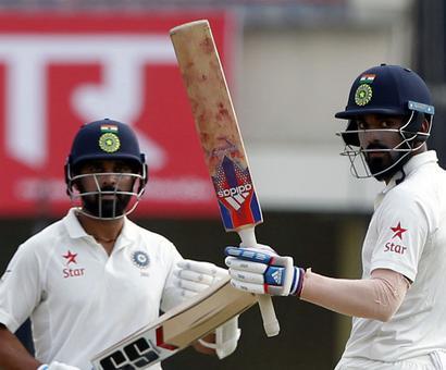 Ranchi Test: Rahul, Vijay give India good start after Australia make 451